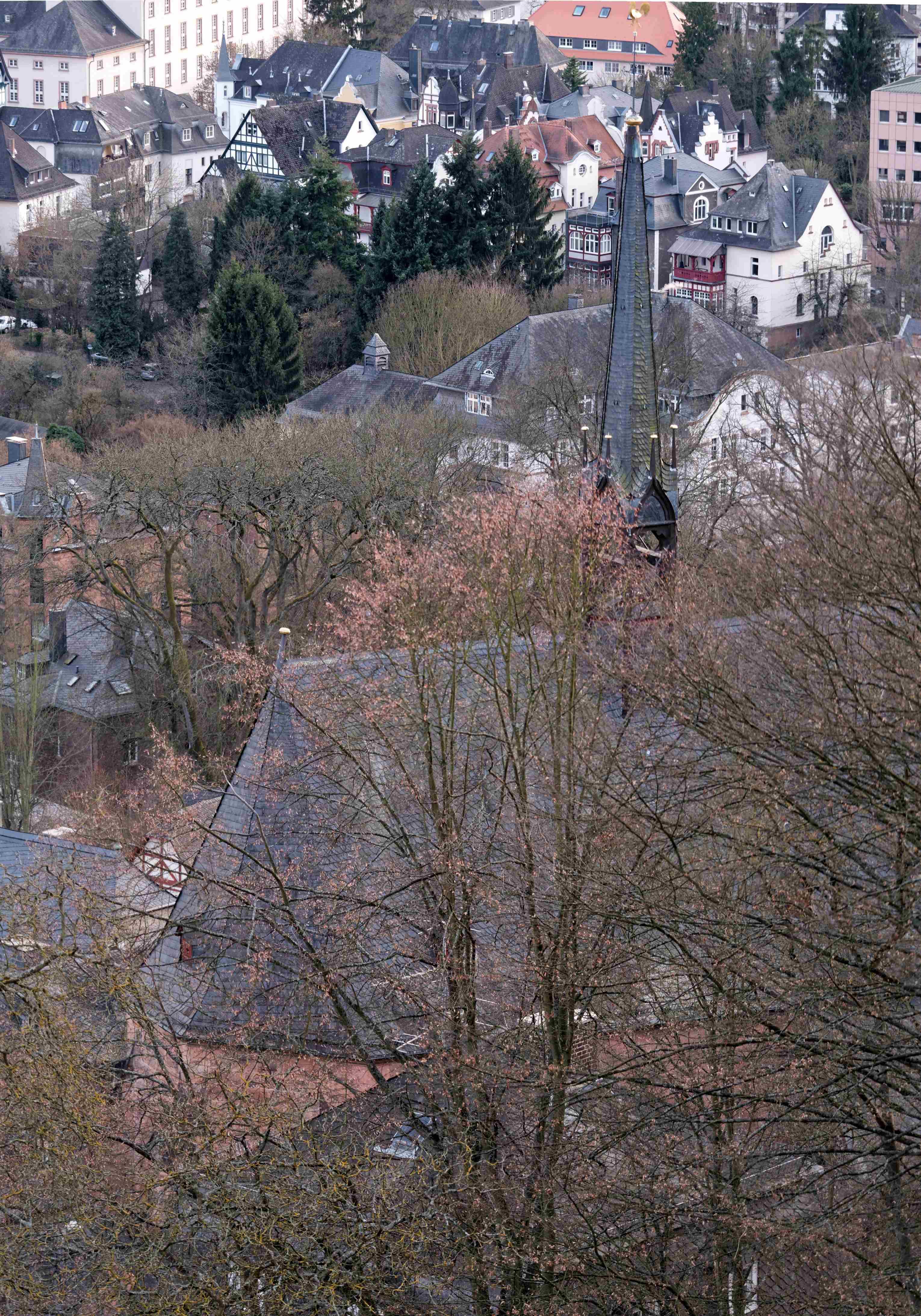 6. Blick vom Schloss
