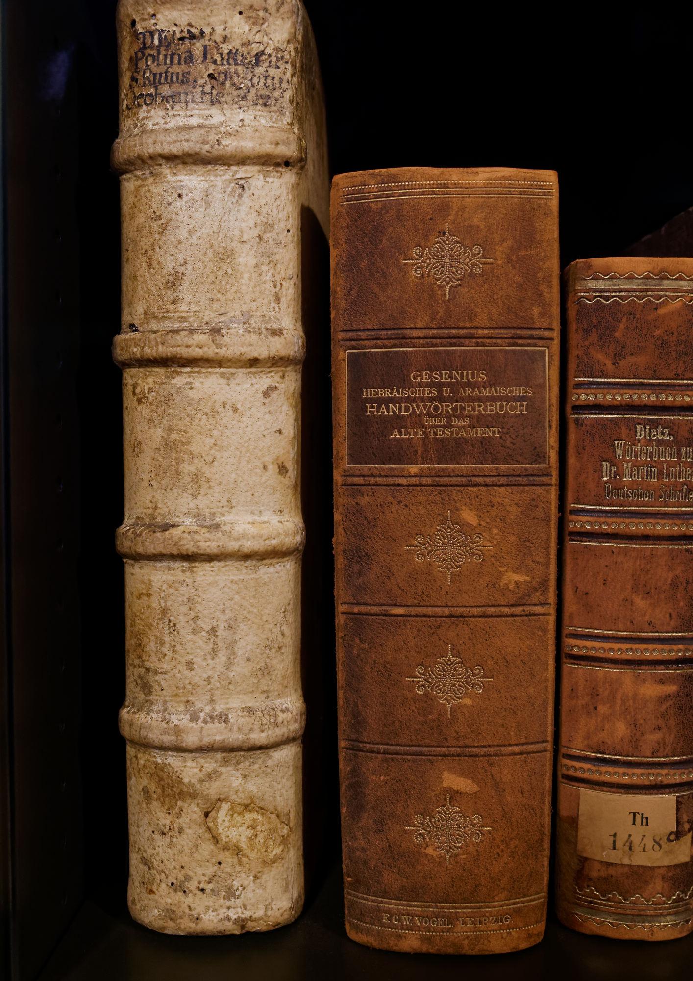 Teil der Bibliothek auf der Wartburg