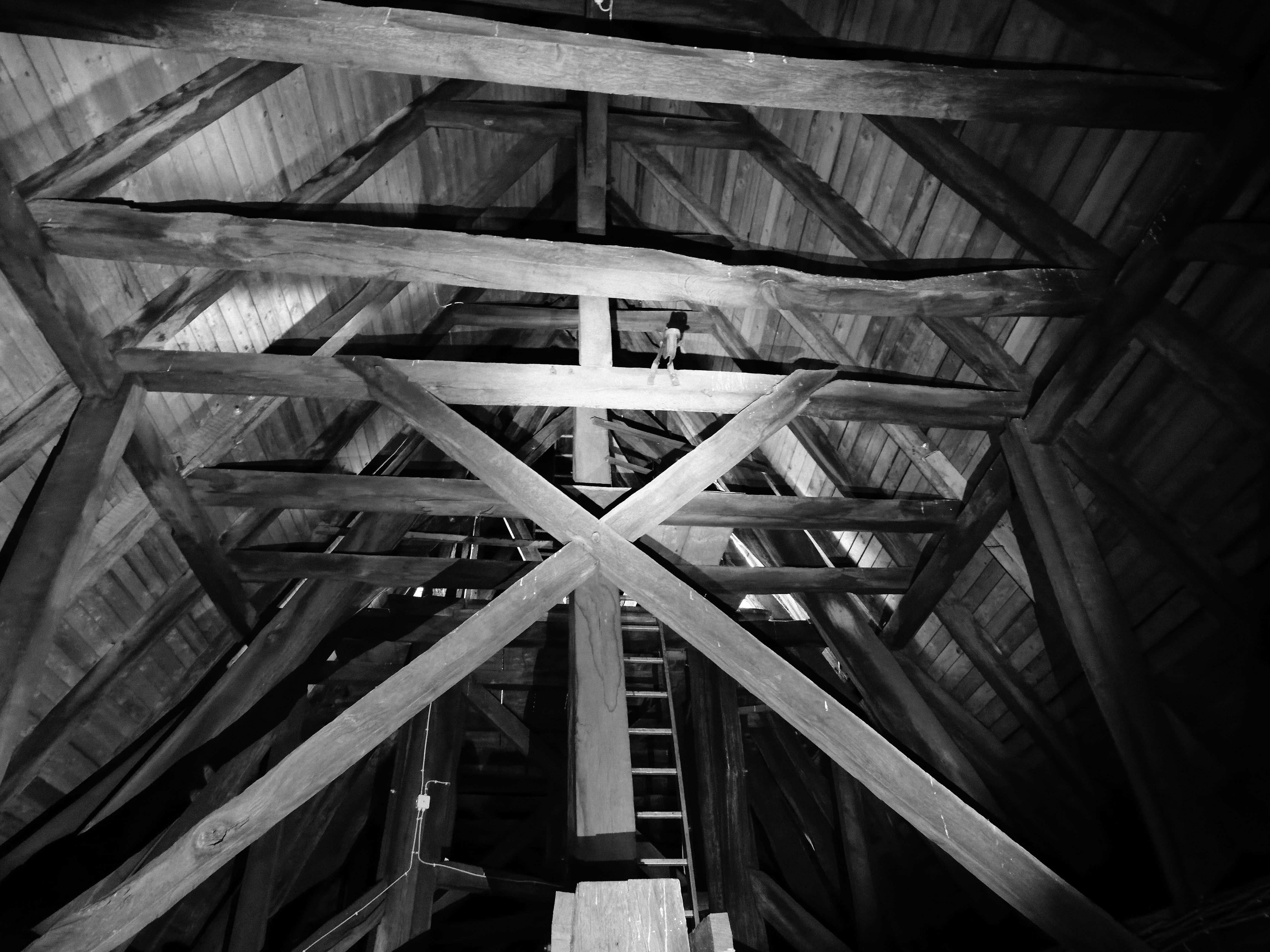 Aufgang zum Dachreiter