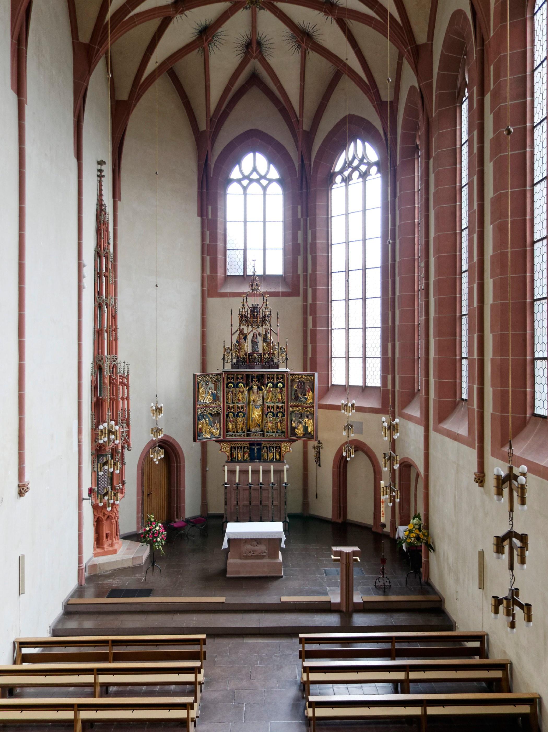 Kirchenschiff von der Empore aus