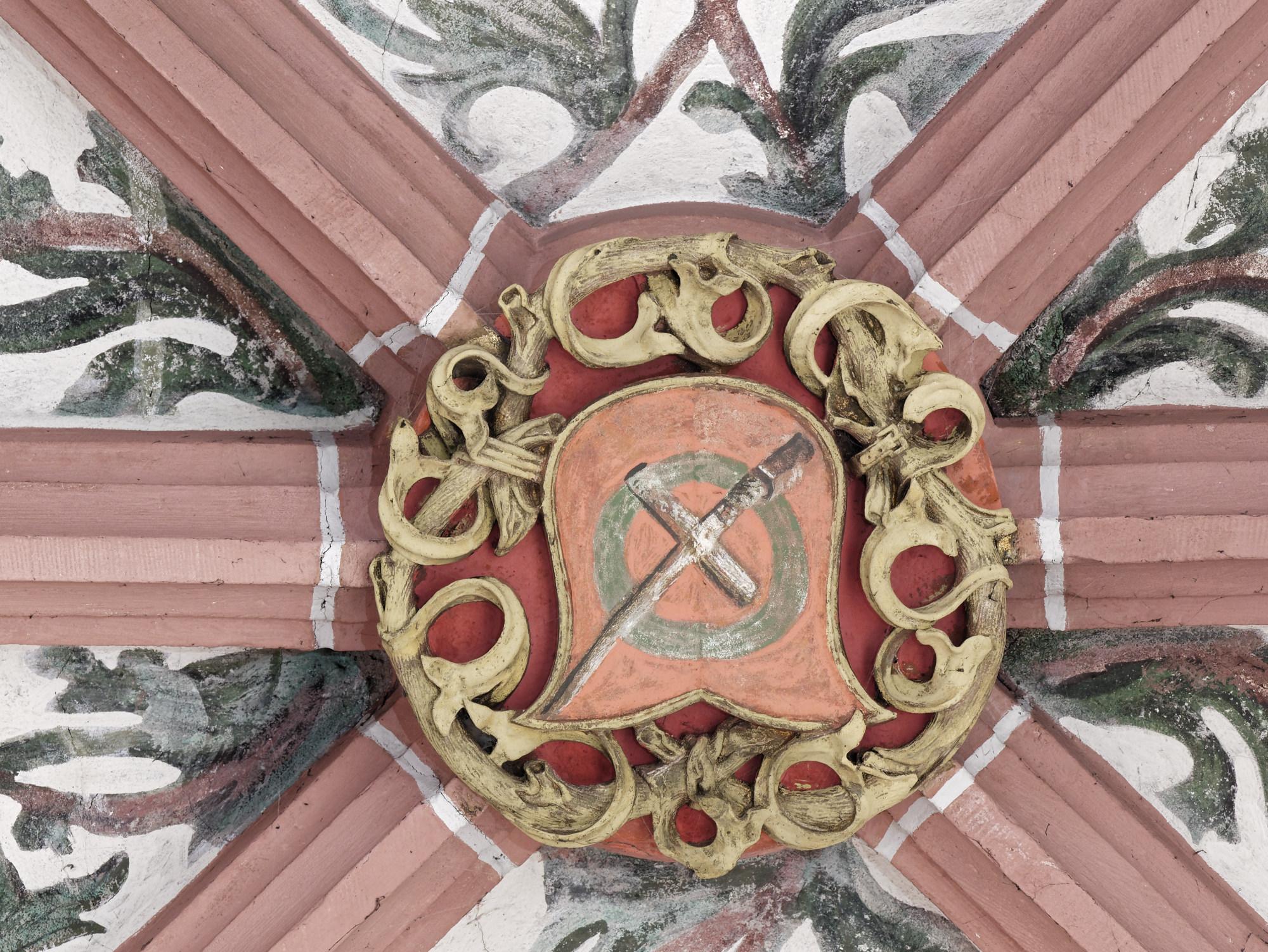 Dritter Schlussstein, Detail