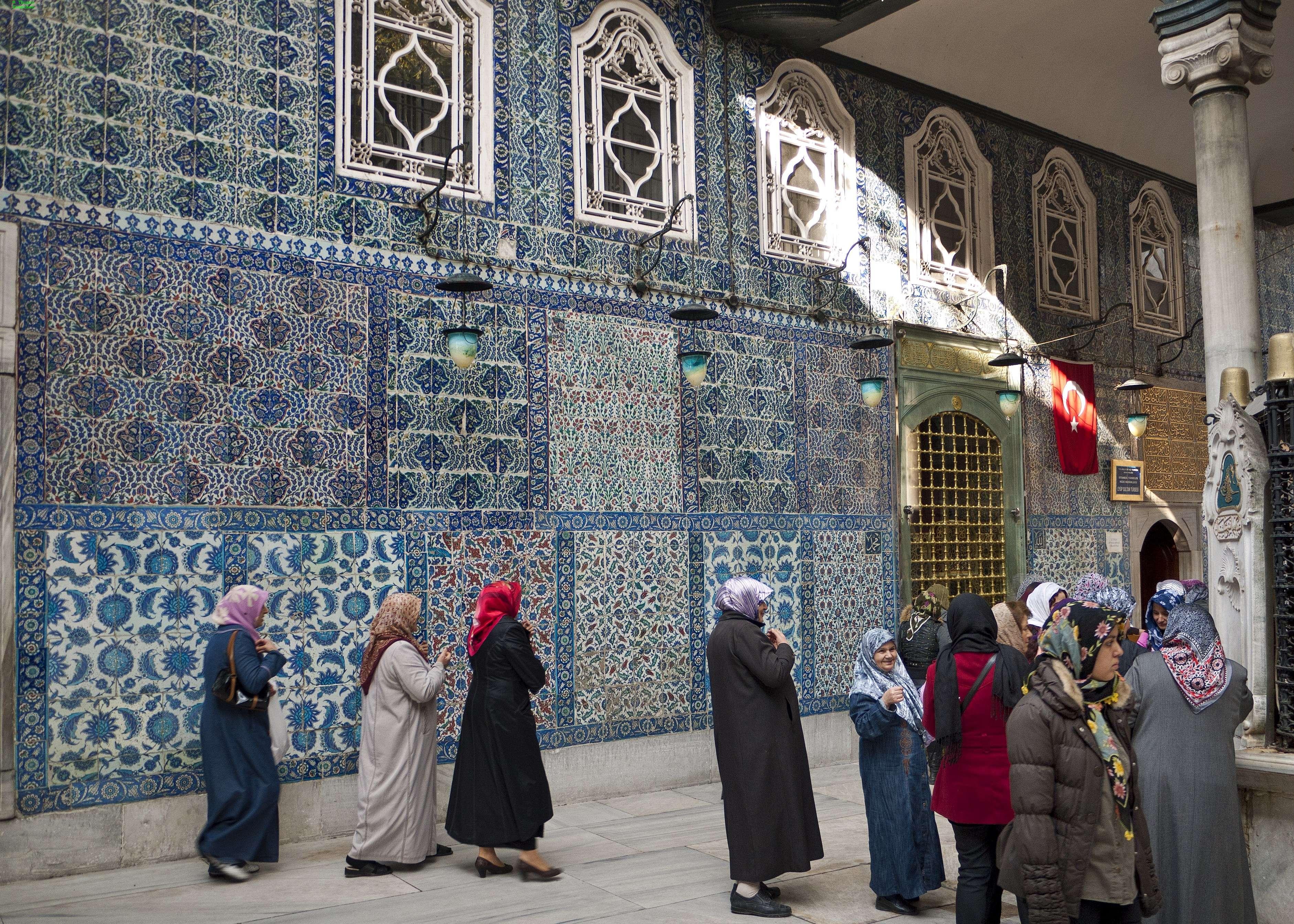 Innenhof Eyüp-Sultan-Moschee