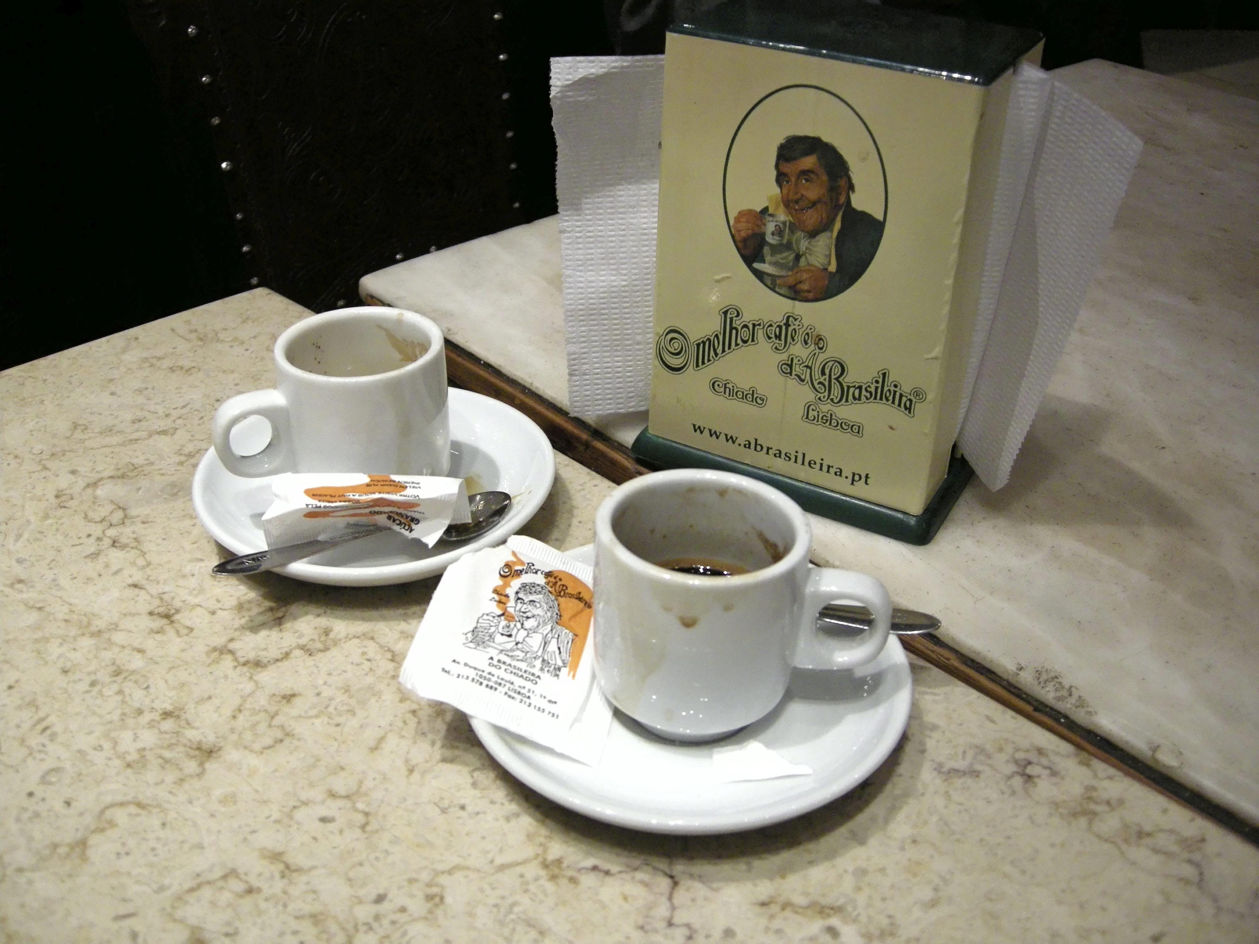 Lissabon: Cafe Brasileira