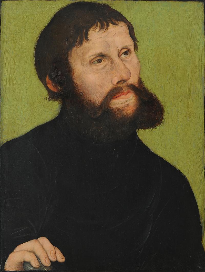1521, Lucas Cranach der Ältere, Luther als Junker Jörg