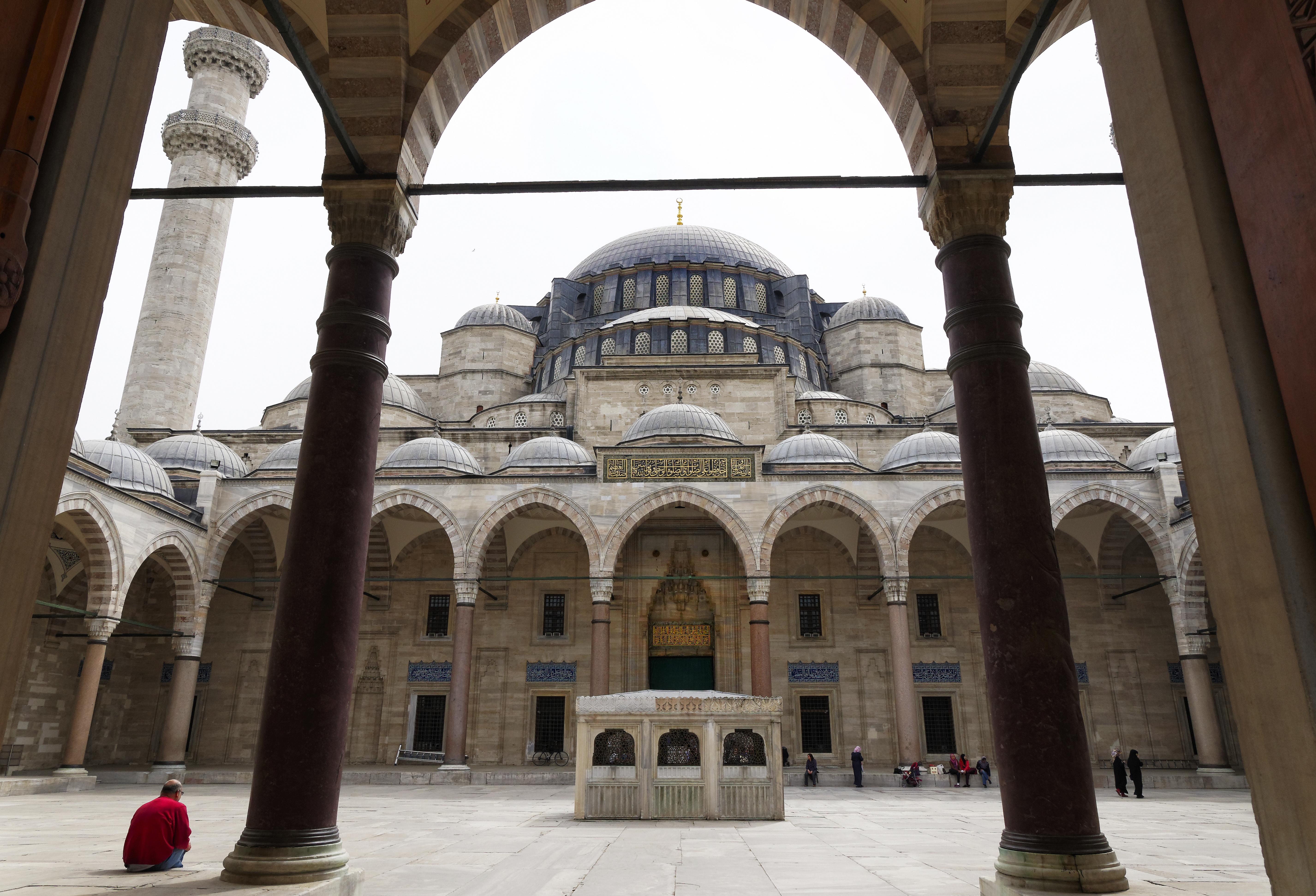 Innenhof Süleymaniye Moschee