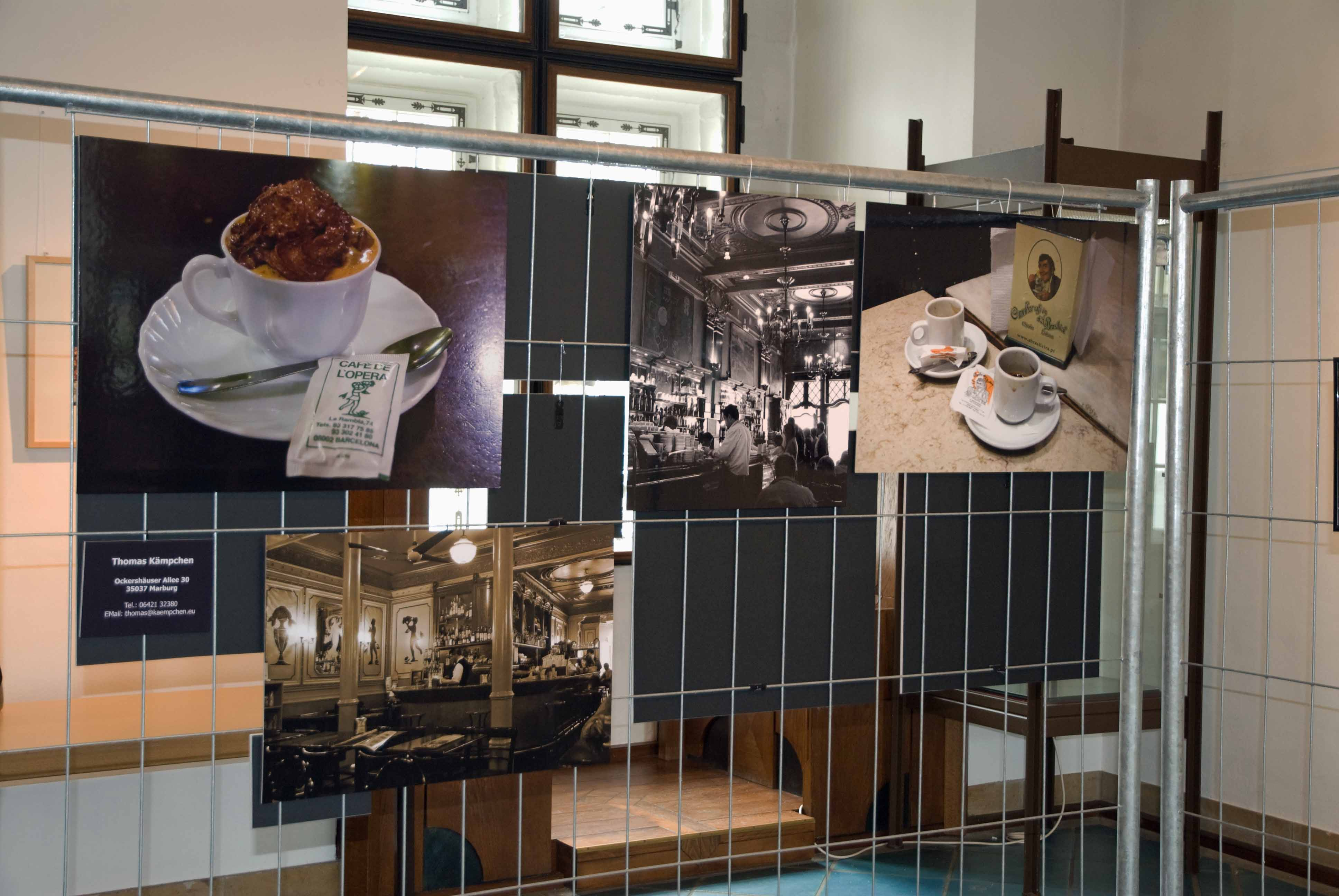 Rückseite Ausstellungswand